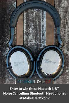 Enter to win these Naztech i9BT  Noise Cancelling Bluetooth Headphones at MakeUseOf.com!