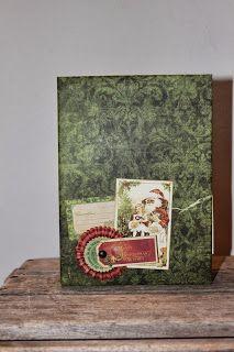 Kulricke with 100pscrapbooking: Handmade Christmas Album Bo Bunny!