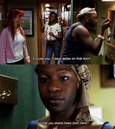 I'm sad that Lafayette is not a real person, and not my best friend haha...True Blood