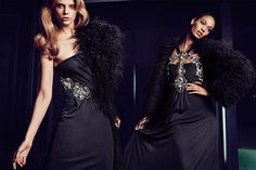 Joan Smalls & Martha Streck for Gucci Fall 2011 Catalogue