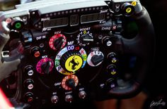 Ferrari steering wheel, Japanese Grand Prix 2012