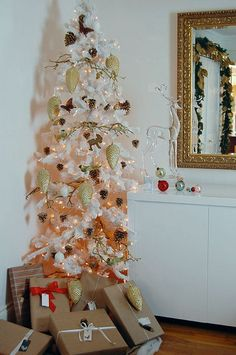 White Tree in small space