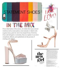 """""""statement shoes"""" by katherinemgm ❤ liked on Polyvore featuring Givenchy, Paul Smith, Giuseppe Zanotti and Balmain"""