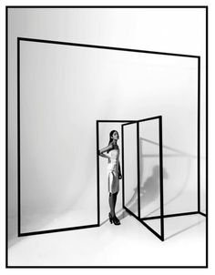 """""""if opportunity doesn't knock,build a door"""", pinned by Ton van der Veer Theatre Design, Stage Design, Display Design, Booth Design, Building A Door, Ligne Claire, Design Blog, Exhibition Space, Retail Design"""