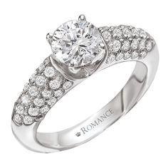 Diamond wedding ring - Ring #117174 - Tom Tivol Jewelry of Kansas City. http://www.tomtivoljewels.com