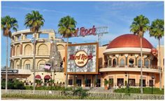 Hard Rock Cafe Orlando, went here with my family