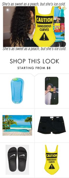 """""""Talking Body X Tove Lo💦"""" by superforeverlove1 ❤ liked on Polyvore featuring Frame Denim, NIKE and Moschino"""
