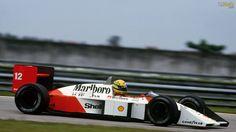 Ayrton Senna - 1988 Honda MP4