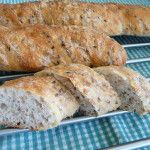 Bageta - My site Slovak Recipes, Russian Recipes, Bread Recipes, Cooking Recipes, Bread And Pastries, Vegan Sweets, Food Dishes, Banana Bread, Food And Drink