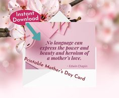 Mothers Love, Happy Mothers Day, Happy Mother's Day Card, Mother's Day Greeting Cards, Affiliate Marketing, Online Business, Place Card Holders, Printables, Create