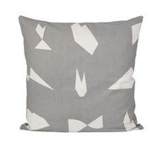 Cut Cushion (Gray)