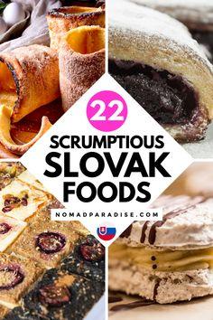 Slovak Recipes, Ukrainian Recipes, German Recipes, Hungarian Recipes, Russian Recipes, World's Best Food, Good Food, Yummy Food, International Food Day