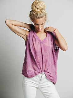 Free People LA Livin Crazy for Lacey Tee, $68.00