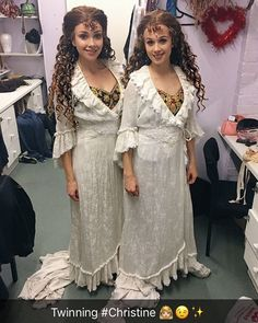 C R Y I N G Seriously though can they please just CUSTOM MAKE THE BALLET GIRL DEGAS WIGS ALREADY?!?! It's not like the ballet girls don't stay as long as the other cast members, some even stay longer I JUST DON'T GET IT #whatqueens #georgiaware #lilyhowes #phantomoftheopera