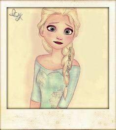 Snapshot of Elsa taken by Hiccup