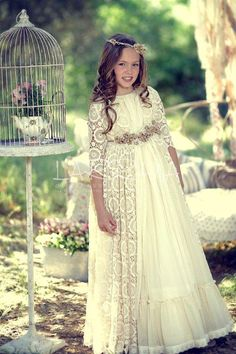 #vestido de #comunion #larrana 2015 en EL PARQUECILLO