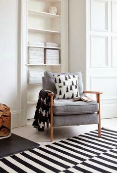gorgeous chair + cushions