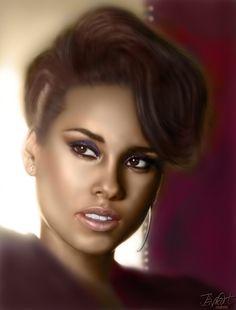 "24/"" Alicia Keys Here poster wall art home decor photo print 16/"" 20/"""