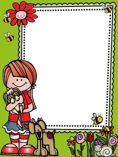 Drawing Tutorials For Kids, Drawing For Kids, Kindergarten Classroom Setup, School Binder Covers, Frame Layout, Clever Kids, School Frame, Card Book, Class Decoration