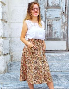 Amala Midi Skirt from Passion Lilie