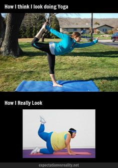 Expectation vs. reality: YOGA.