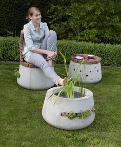 Concrete Garden Furniture design katharina buchholz