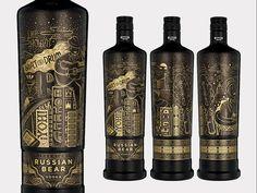 Russian Bear Vodka Urban Expressions by Hylton Warburton