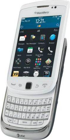 BlackBerry Torch 4G 9810 Phone, White (AT) $0.01