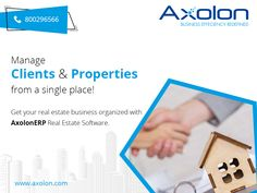 Axolon Real Estate Management software allows you to seamlessly manage your real estate business from one single platform.  For more details, you can visit our website www.AxolonERP.com or call us at our toll-free number ☎ 800296566  #RealEstate #RealEstateManagement #RealEstateManagementSoftware #RealEstateManagementSolution #RealEstateManagementERP #RentingSoftware #FacilityManagementSoftware #FacilityManagement #MaintenanceManagementSoftware #MaintenanceManagementSolution #Axolon… Us Real Estate, Real Estate Business, Business Goals, Business Management, Real Estate Software, Facility Management, Accounting Software, Business Organization, Day Work