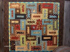 Jelly Roll Quilts | jelly roll quilt anka s treasure design using coffee themed jelly roll ...