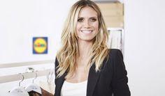 Heidi Klum faz coleção de moda para o Lidl Fashion Week