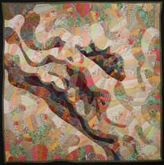 "Untitled, 50 x 50"", by Vanessa Brisson, quilt artist"