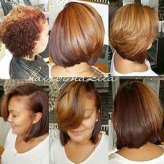 Voice Of Hair — |TRANSFORMATION TUESDAY| Love this #bobcut ✂️ and...