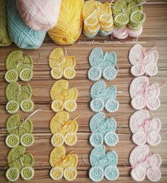 Baby Knitting Patterns, Crochet Blanket Patterns, Crochet Motif, Diy Crochet, Crochet Designs, Crochet Crafts, Crochet Flowers, Crochet Baby, Crochet Carpet