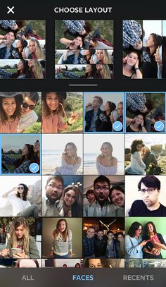 Instagram finally puts its own collage app - LAYOUT on Behance
