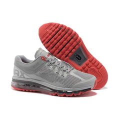 quality design 97551 ae47b Find Discount Nike Air Max 2015 Mesh Cloth Mens Sports Shoes - Silver Gray  Red For Sale online or in Pumacreeper. Shop Top Brands and the latest  styles ...