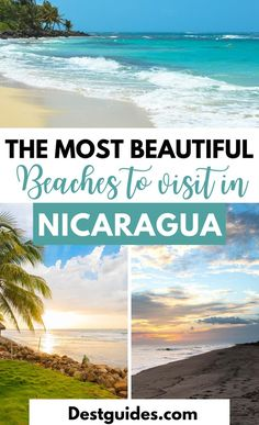 Traveling to Nicaragua and looking for what to do? Here are the most beautiful beaches to visit in Nicaragua in 5 days. | Best beaches in Nicaragua| things to do in Nicaragua| top things to do in Nicaragua| what to do in Nicaragua| Nicaragua travel guide| Nicaragua travel itinerary | 5 days in Nicaragua| places to visit in Nicaragua #thingstodoinNicaragua #placestovisitinNicaragua #Nicaraguaitinerary #Nicaraguatravel #Destguides