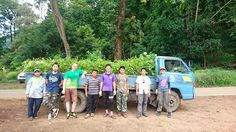 #ECOTOURS #SWD #GREEN2STAY Flight of the Gibbon  We just picked up another truckload of 5,000 native saplings ready for our tree planting this weekend at Mae Takrai National Park. Super excited to see you there. :) http://www.green2stay.com/eco-tours-and-food