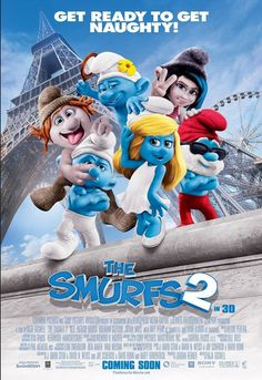 are you a big fan of smurf ? don't miss this movie