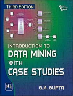 Introduction to data mining with case studies / G. K. Gupta. Edición:3ª ed. Editorial:Delhi : PHI Learning Private Limited, 2015.