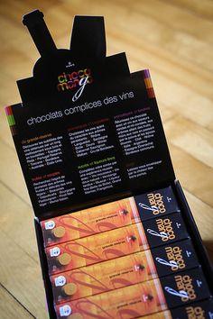Chocolat complice des vins de grande réserve Choco-mango