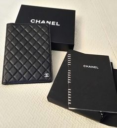 Chanel Quilted Leather Agenda Notebook $444