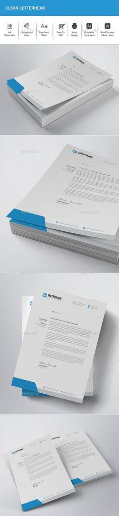 company letterhead example_4jpg Letterhead Pinterest - company letterhead templates