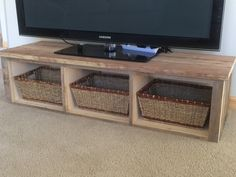 TV stand created by friends (for free) with fence boards from the farm Fence Boards, Reuse, Repurposed, Recycling, The Unit, Entertaining, Tv, Friends, Furniture