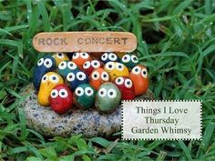 Rock Concert - My gramma had one just like this and I thought it was so funny as a kid.  I'll have to make one!