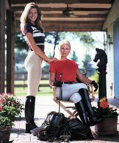 These girls are waiting to (maybe) ride out into the countryside with Mr. GB. .....................