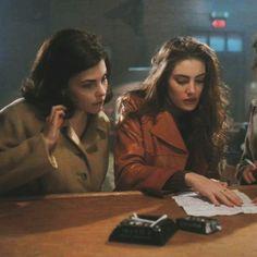 the girls of twin peaks