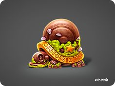 Dribbble - Tortoise Relic by Victor Soto