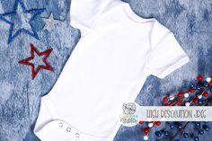 July Baby Suit Mockup 3| 4th of July Newborn Clothes Mockup Line Design, Your Design, Independence Day Photos, July Baby, Baby Suit, Newborn Outfits, School Design, Design Bundles, Mockup