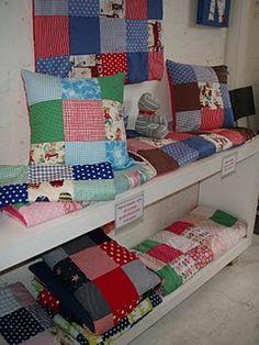 CHALK quilts $120  Cushions $39